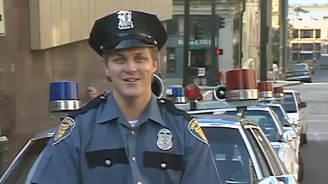 Seattle Police Officer Steve Olson