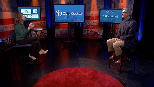 Civic Cocktail with Joni Balter and Gary Locke