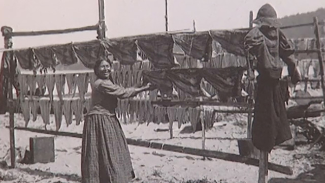 An early photo of the Duwamish tribe