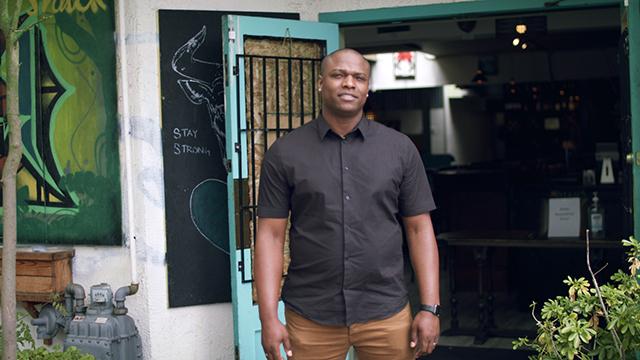 Jerk Shack owner Trey Lamont