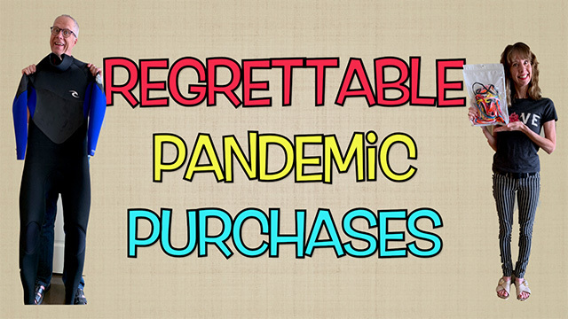 Nancy and Joe Guppy share pandemic purchases