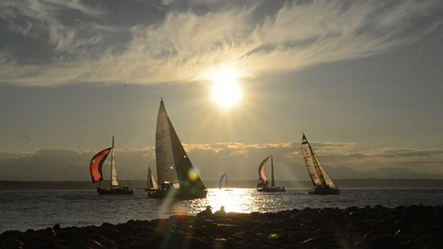Sailboats near Ballard