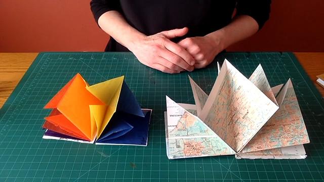 Lotus book folding