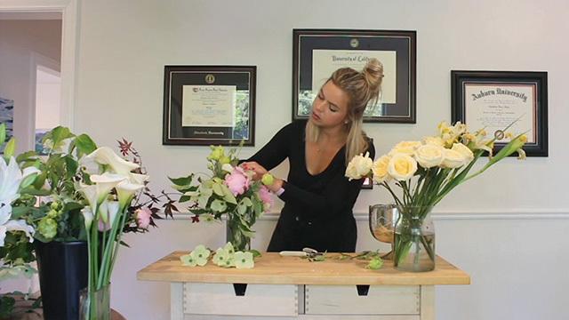 Floral design tips on AgeWise TV: Episode 112