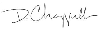 Dwane Chappelle signature