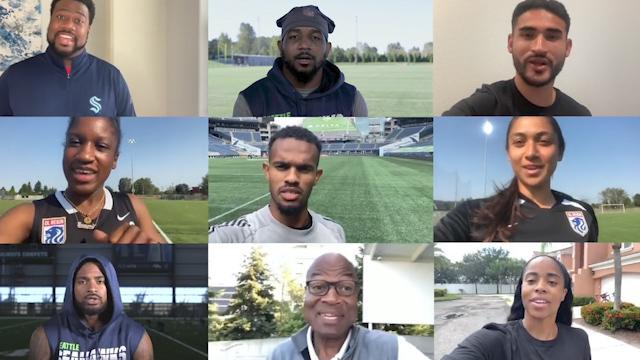 Unite Seattle athletes
