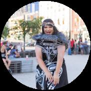 Hailey Tayathy, Seattle's premier Native American Drag Queen