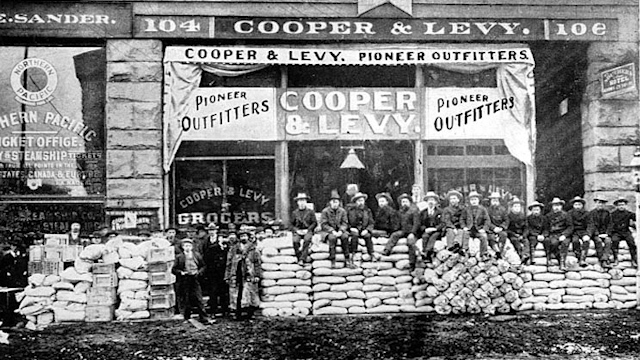 Seattle during the Gold Rush