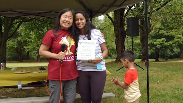 Ginger Kwan, a community advocate