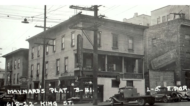 Historic photo of Seattle's Chinatown-International District