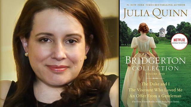 Julia Quinn, author of the Bridgerton books