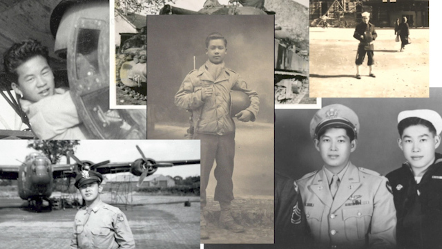 Chinese American veteran Gene Moy