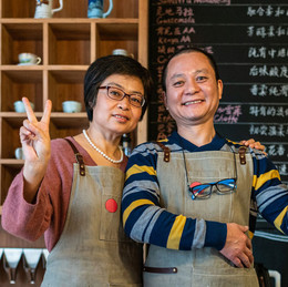 Two Business Owners in Shop