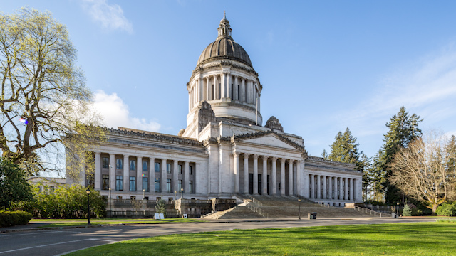 Capitol building in Olympia