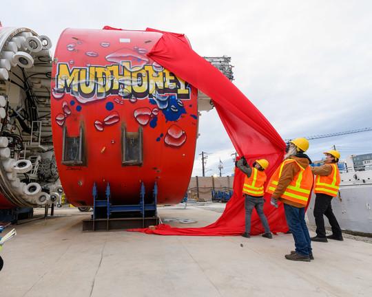 MudHoney, SPU's new TBM