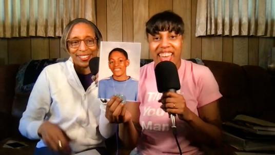 Video Bebop host Eva Walker with her mom