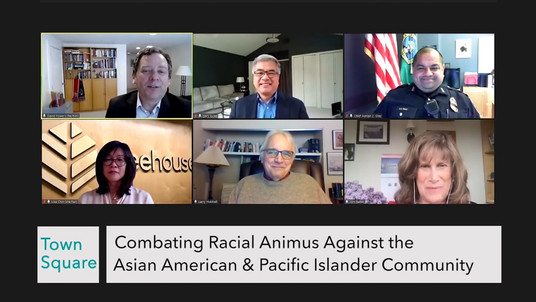 Panel discussion: Combating Racial Animus Against the AAPI Community - Solutions for Change