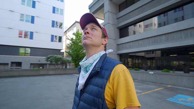 Jed Dunkerly leads a tour through South Lake Union