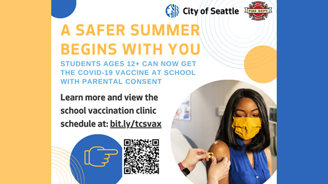 Youth vaccination promo