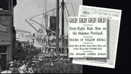 Miner's Landing was an important landmark during the Gold Rush
