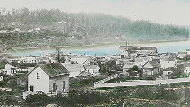 Historic photo of Lake Union