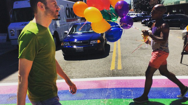 Virtual Pride panel