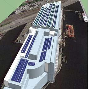 Pier 69 soalr panel rendering
