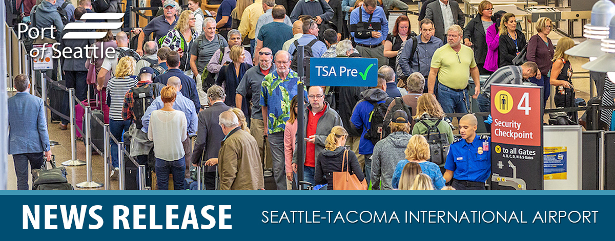 Checkpoints at Sea-Tac Airport News Release Header