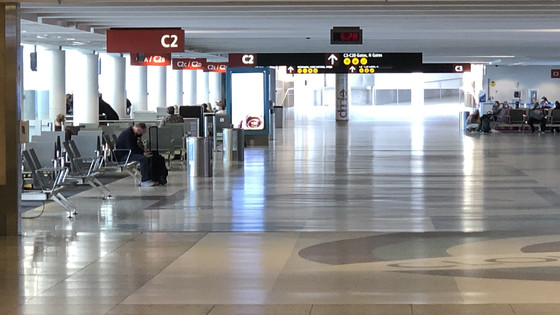 Empty C Terminal at SEA in the hieght of COVID-19 pandemic, May, 2020