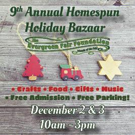 Holiday Homespun Bazaar