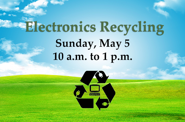 Mill Creek Electronics Recycling Event Poster