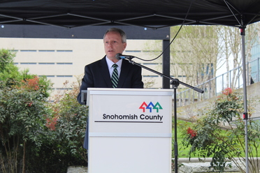 Chair Ryan speaking at Earth Day Event