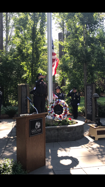 Photo from Memorial Day Ceremony