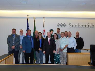 Public Works Week Resolution Signing