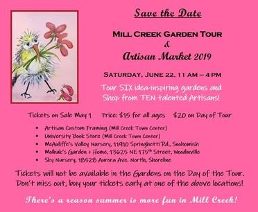 Mill Creek Garden Club Flyer