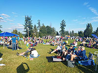 Music in the Park in Brier