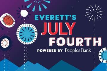 Everett 4th of July Poster