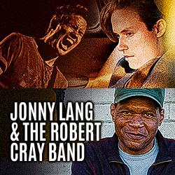 Jonny Lang and Robert Cray Band poster