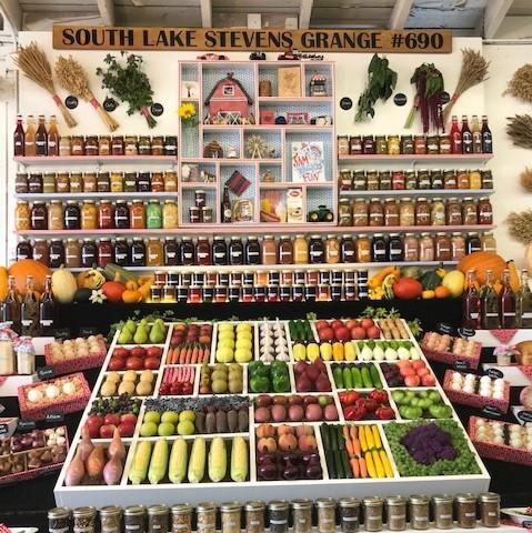 Food Display at State Fair