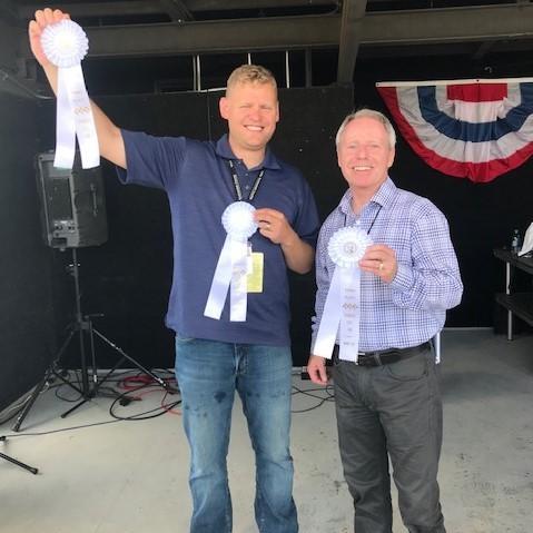 Photo of Executive Director Ken Klein and Chair Ryan