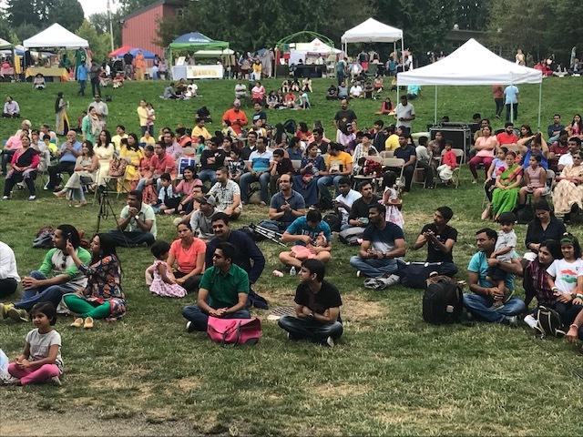 Photo of crowd at UTSAV festival