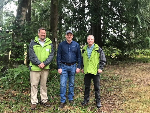 Photo with CM Low and Chair Ryan at Forestry Event