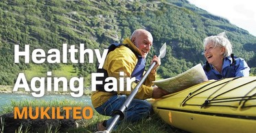 Event Banner for Healthy Aging Fair in Mukilteo