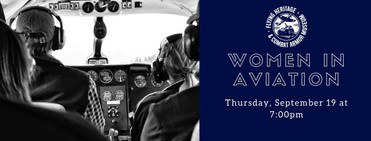 Banner for Women in Aviation Event