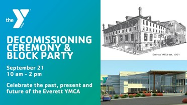 Event Banner for the YMCA Block Party