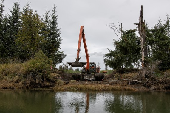 construction on Mid-Spencer Island