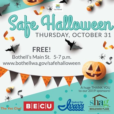 Bothell Safe Halloween Poster
