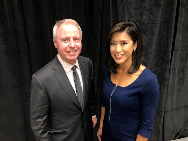 Photo of Chair Ryan with Mimi Jung