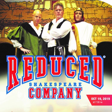 Reduced Shakespeare Company Poster