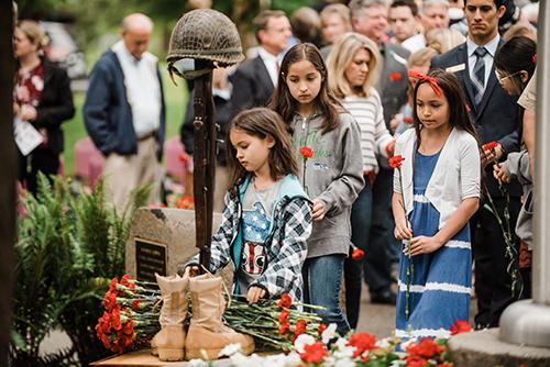 Photo of Veteran's Day Ceremony